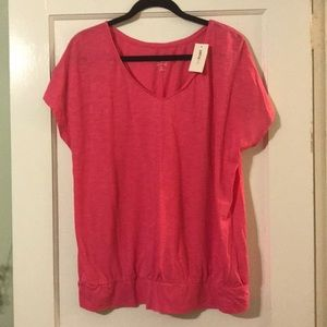 Lane Bryant Pink Top